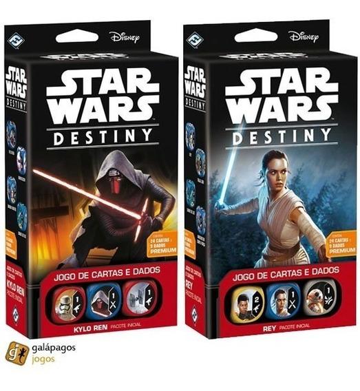 Lote - Star Wars Destiny - 02 Decks Despertares