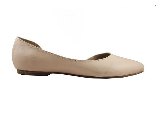 Chatita Abierta Cuero Zapatos Mujer Dama 2019