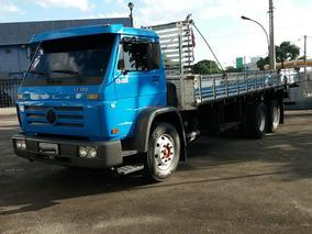 Vw 13-180 Truck Ano 2001 C/ Carroceria De Madeira