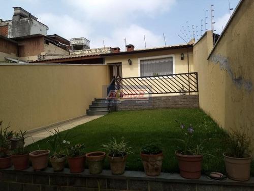 Sobrado Com 3 Dormitórios À Venda, 206 M²  - Parque Vitória - São Paulo/sp - Ai14810