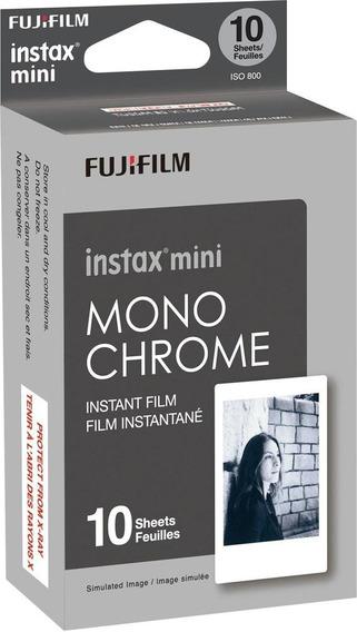 Filme Instax Mini 9 Pack Para 10 Fotos - Monocromático