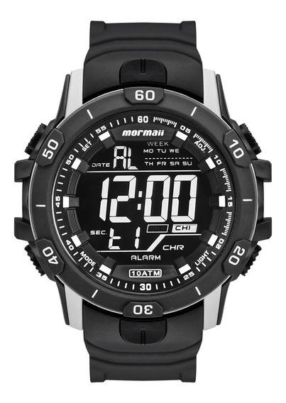 Relógio Digital Mormaii Action Prata Mo3690aa/8c