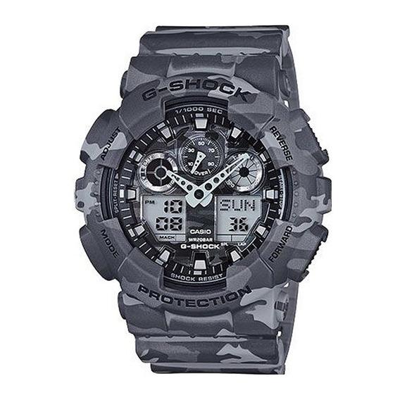 Relógio Casio G-shock Ga-100cm-8adr Original + Frete