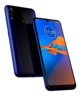 Smartphone Motorola Moto E6 Plus Dual Sim 32gb Caribean Blue