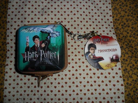 Harry Potter Monedero Metalico De Coleccion Nuevo