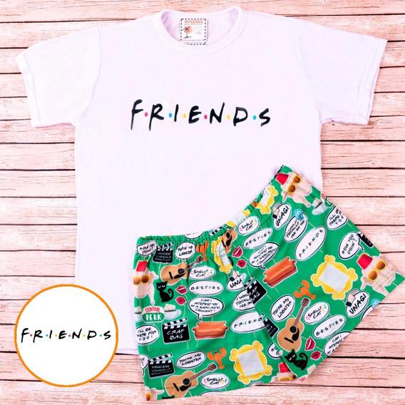 Pijama De Verano Friends - Store Mykonos