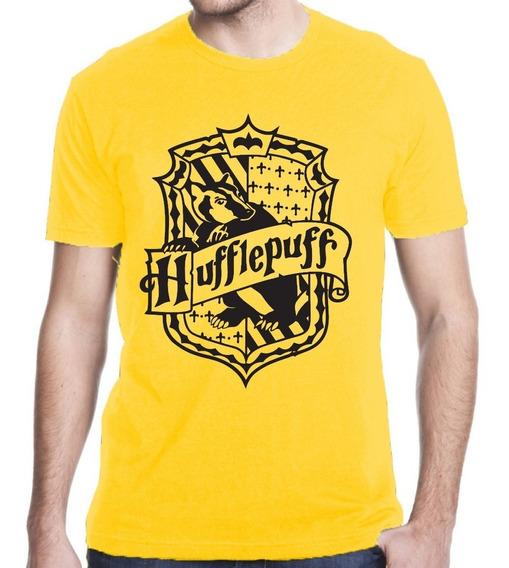 Camiseta Harry Potter Lufa Lufa Hufflepuff Hogwarts Mod 02