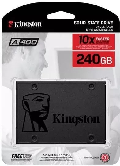 Hd Kingston Ssd Sa400s37 240gb 2.5 N-f