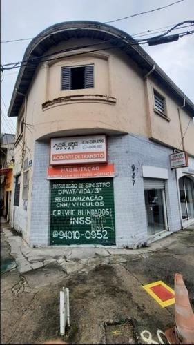 Imagem 1 de 12 de Salão Para Alugar, 50 M² Por R$ 1.600,00/mês - Ipiranga - São Paulo/sp - Sl0095