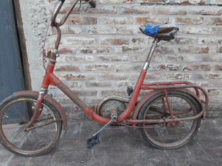 Bicicleta Plegable Gracielita Rod 16