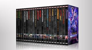 Colección Peliculas Marvel Dvd - Cronológia 23 Peliculas