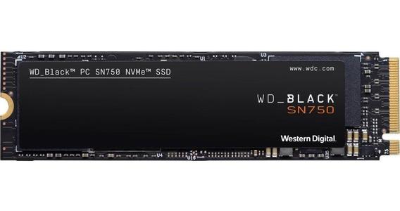 Ssd Wd Black 1tb M.2 Sn750 2280 Wds100t3x0c