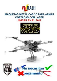 Nano Maqueta 3d Metálica Piece Fun De Star Wars