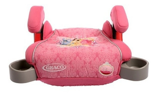 Booster Graco Princesas Con Apoya Vaso Doble
