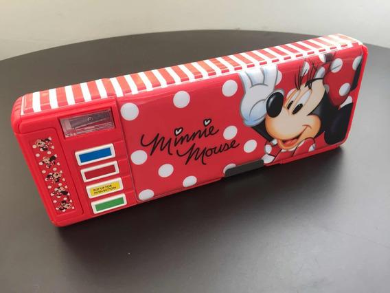 Estojo Escolar Minnie Mouse