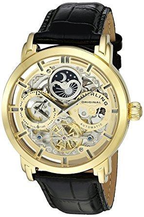 Reloj De Pulsera Stuhrling Original Para Hombre Acero