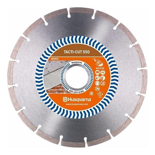 Imagem 1 de 3 de Disco Diamantado 350mm Husqvarna K760 K770 Tacti-cut S50