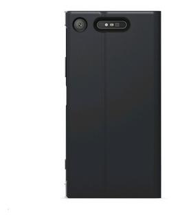 Sony Capa Com Suporte Scsg50 Xperia Xz1 Preto Original