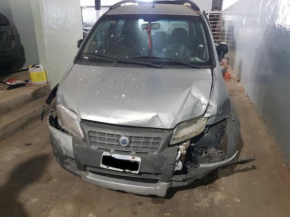 Fiat Idea Adventure 1.8 8v Chocada!!!