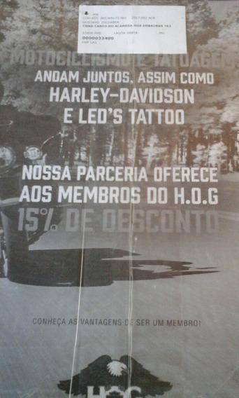 Revista Hog Harley Davidson Ed 01 2017
