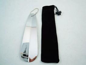 Calçadeira De Sapatos Ou Tênis Em Aço Inox 16cm Frete R$12