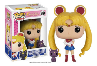 Funko Pop! - Sailor Moon With Moon Stick & Luna