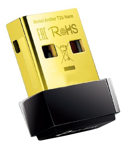 Adaptador Usb Wifi Tp Link Archer T2u Nano Ac600 Doble Banda
