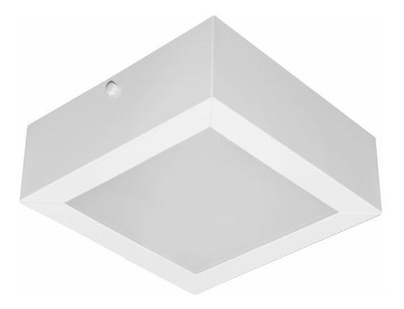 Kit 2 Pç Lum, Plafon, Spot C/vidro Jateado Sobrepor P/2 Lamp
