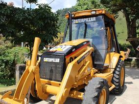 Retroexcavadora (pajarita) Caterpillar 416c