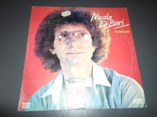 Nicola Di Bari En Castellano * Disco De Vinilo
