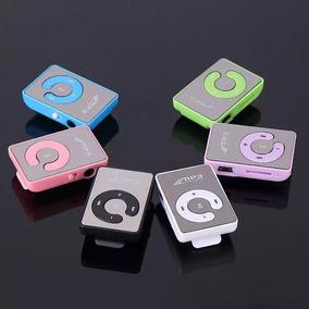 5 Mp3 Player Atacado + 1 Cartão Micro Sd De Brinde