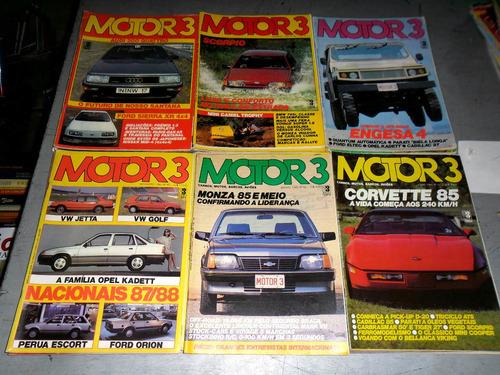 Coleção Completa Revista Motor 3 - 83 Edições Oferta !!!!