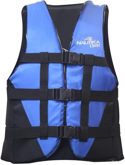 Colete Náutico Salva-vidas Nautika Flutuante Coast 60 Kg