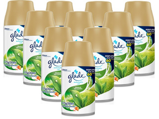 10 Refil Glade Automatic Manhã Do Campo 269ml