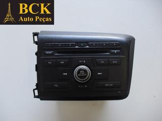 Toca Cd Mp3 / Usb Honda Civic 14/15 - Bck 35