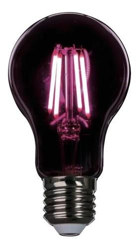 Lampara Led Bulbo A60 6w E27 Growlamp Uv Cultivo Interior