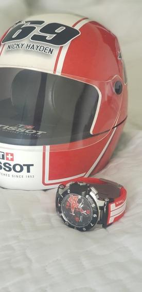 Relógio Tissot Coleção Especial Moto Gp Nick Hayden