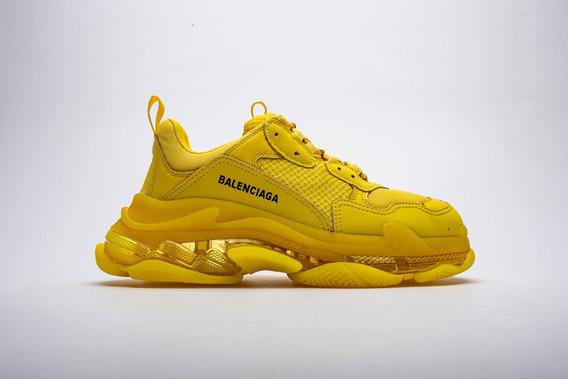 Zapatillas Balenciaga Triple S Amarillo