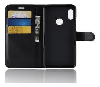 Funda Wallet Flip Cover Cuero Xiaomi Seleccione Su Modelo