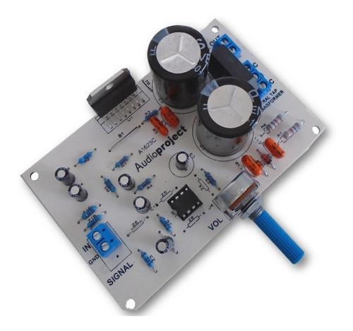 Modulo Amplificador Guitarra / Bajo 100 Watts - Audioproject