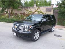 Chevrolet Tahoe Lt 2015 Piel, Q/c, Gps, Servicios De Agencia