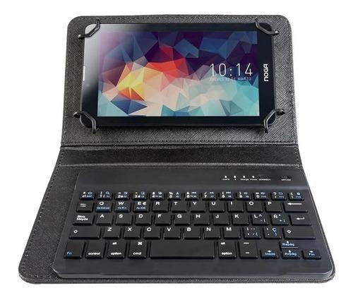 Imagen 1 de 7 de Funda Teclado Bluetooth Universal Tablet 10 11 Pulgada Pcreg