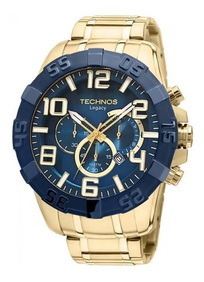 Imperdível Relógio Technos Classic Legacy Os20iq/4a