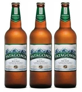 Patagonia Weisse Cerveja Artesanal 740ml 3 Un