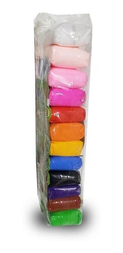 12 Masas Moldeable Slime