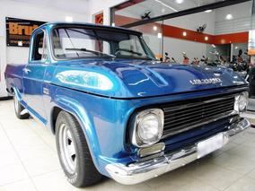 Chevrolet C10 4.1 Cs 8v 1971 Gasolina 2p Manual Azul