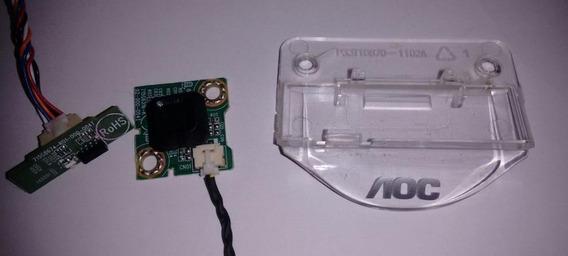 Placa Do Sensor + Botão Power Da Tv Aoc Le32s5970