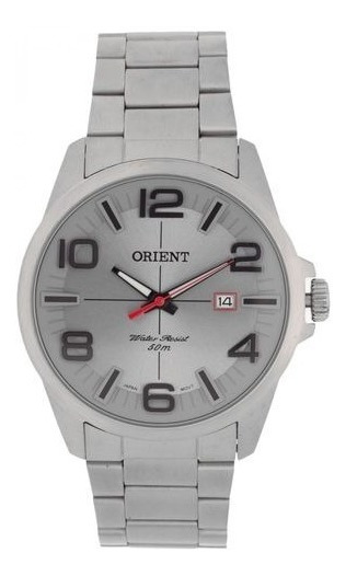 Relógio Orient Masculino Prateado Mbss1289 G2sx
