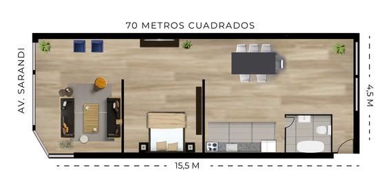 Apartamento 1, 2 Y 3 Dormitorios