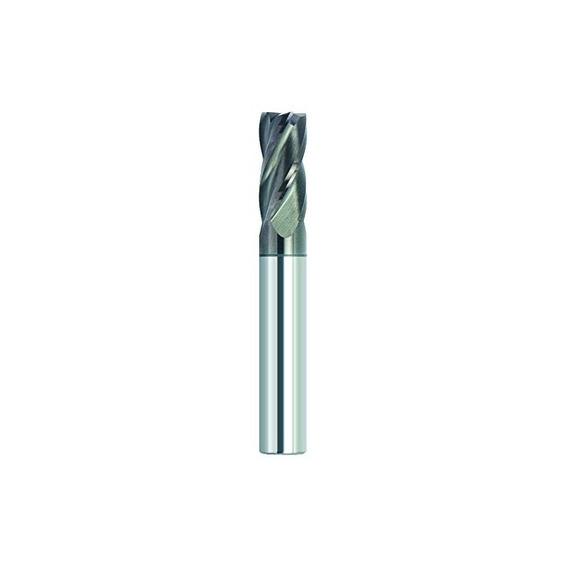 Finecut Tool Ft1004612wa Altin Recubierto De 4 Flautas Varia